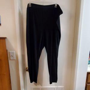 Matte Jersey wide leg pull on pant size 26/28 avg